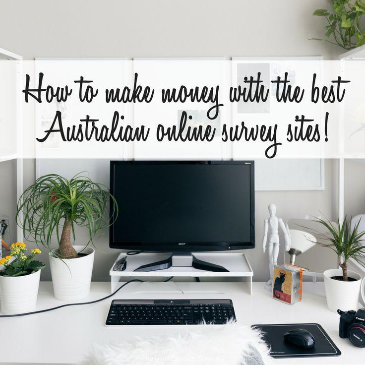 Best Australian online survey sites - earn over $1,000 -