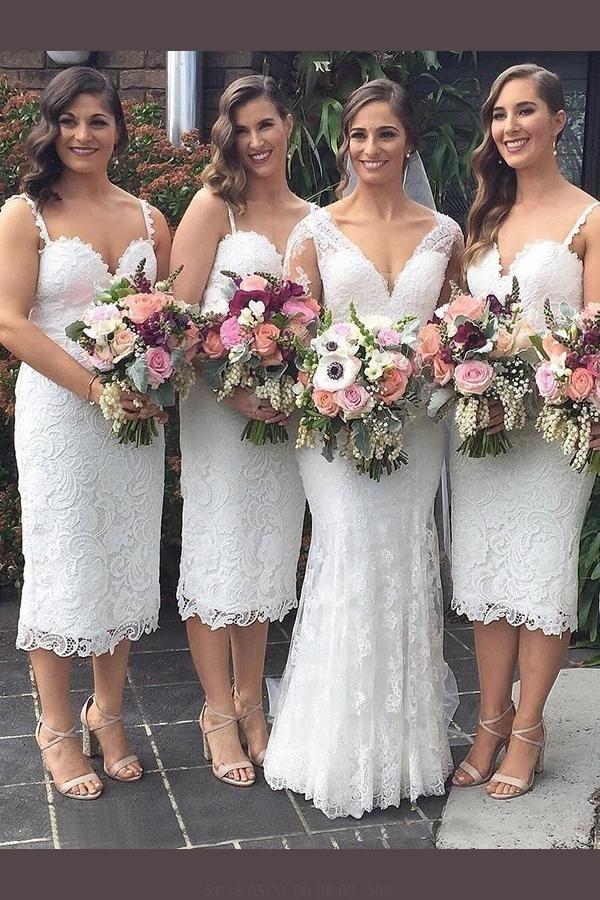 23c4b1abcde6 White Bridesmaid Dress, White Lace Bridesmaid Dress, Bridesmaid Dress  Tight, Bridesmaid Dress Lace #WhiteBridesmaidDress  #WhiteLaceBridesmaidDress ...