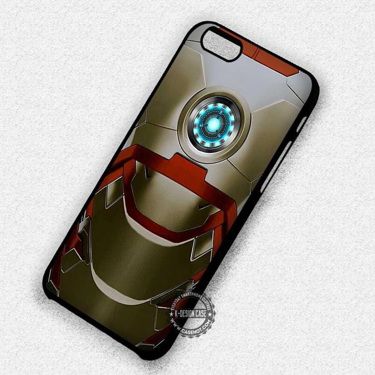 Iron Chest Armor Ironman - iPhone 7 6 5 SE Cases & Covers