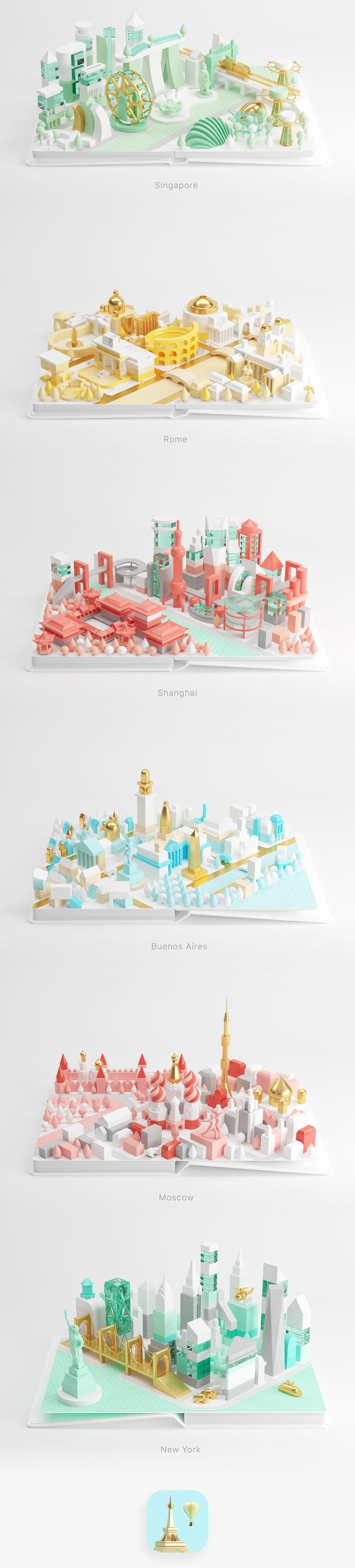 AirPano City Book on Behance
