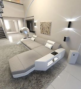 Details Zu Stoffcouch Prato L Form Polstersofa Design Ecksofa Ottomane Couch Led Eckcouch Sofa Design Wohnen Sofa Set Designs