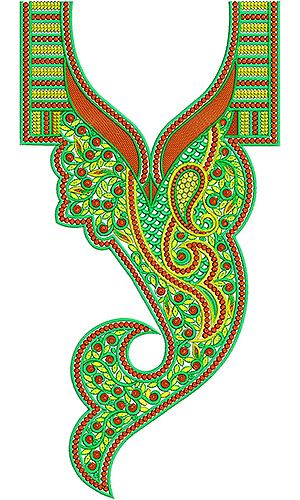 Latest Jalabiya Design for Embroidery