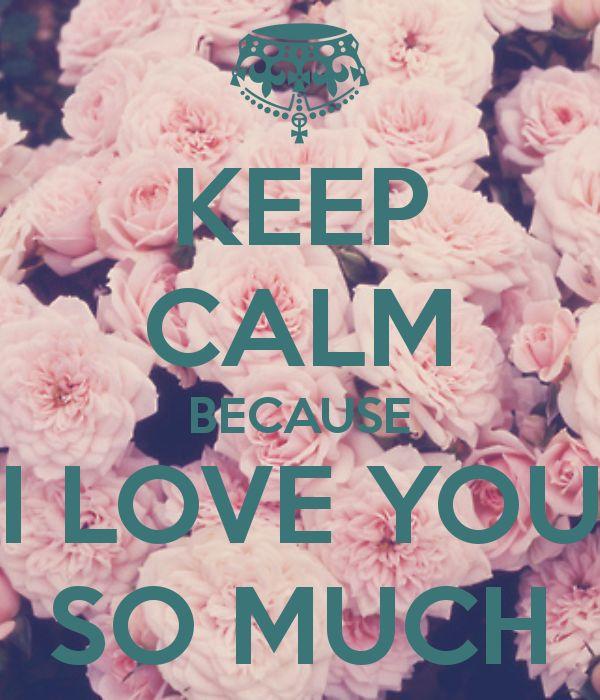 """Résultat de recherche d'images pour """"keep calm and love you"""""""