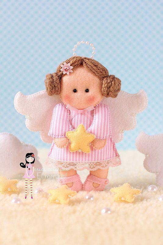 Celebrando angelicalmente 2014!   by Ei menina! - Érica Catarina
