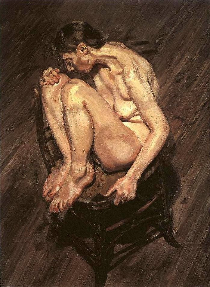 Not Lucian freud naked portrait