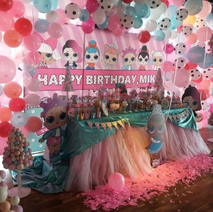 An LOL Doll Themed Birthday Party – The Wee Sparkle – Lol Surprise Birthday