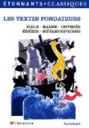 Les textes fondateurs par Christian Keime. Episodes les plus célèbres de la«Bible», de«L'Iliade»etde«L'Odyssée», de«L'Enéide»...  Autant d'occasions de suivre les aventures des personnages mythiques et fondateurs de la civilisation.