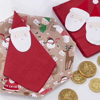 Use our adorable Santa Napkin Topper kit to catch those crumbs during the festive period! This festive fun design is sure to be loved by family and friends of all ages.
