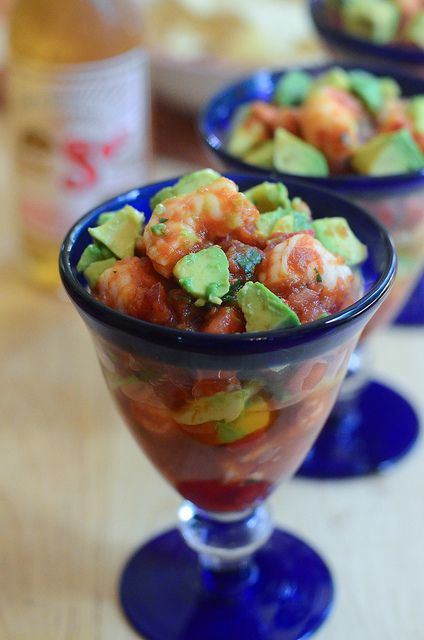 Mexican Shrimp Cocktail by From Valerie's Kitchen, via Flickr