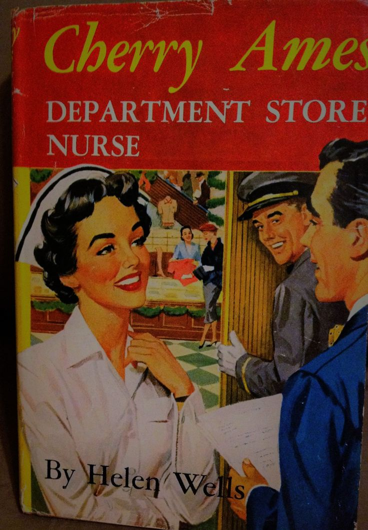 Cherry ames Department Store Nurse by Wells, Helen  Grosset