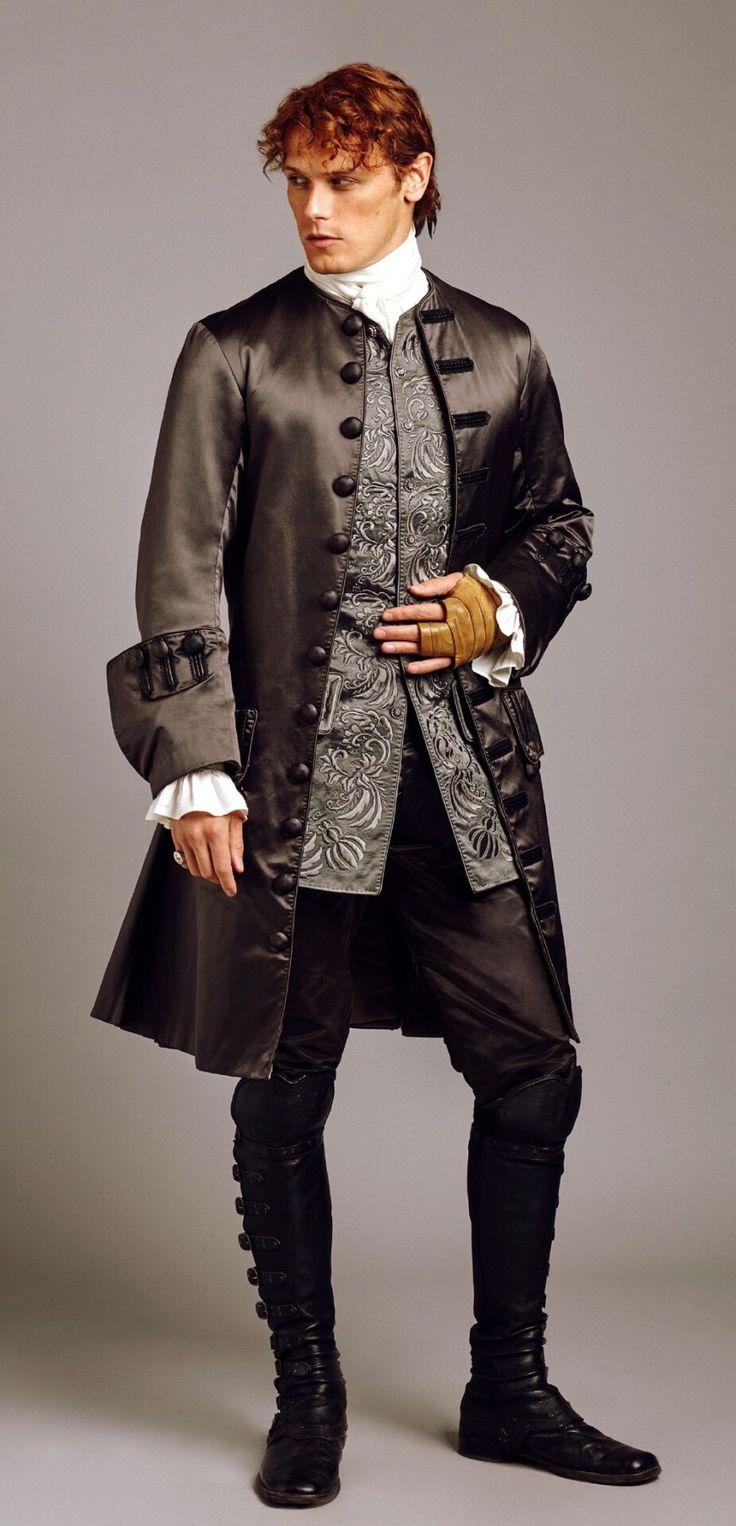 Sam as Jamie Fraser - Season 2