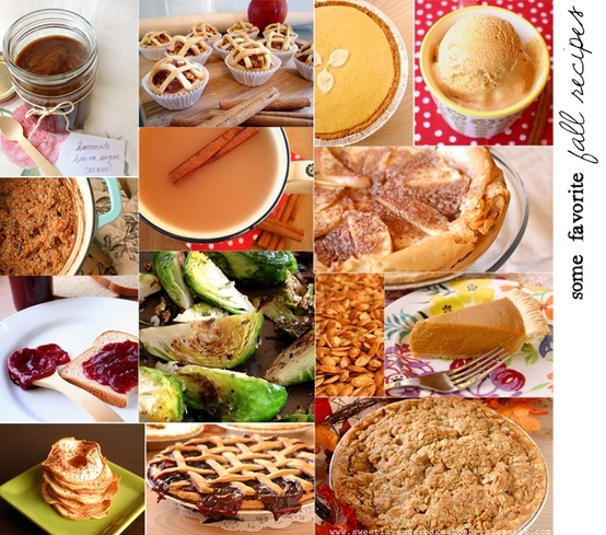 A collection of fall recipes