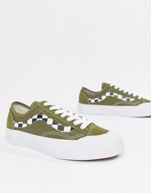 0ee050fc02 Vans Exclusive khaki Style 36 Decon Sf Sneakers