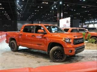 2015 Toyota Tundra TRD Pro Big gun of the TRD Pro contingent, the Tundra's package also starts off with softer, more off-road friendly springs and a 2.0-inch front lift kit but features 18-inch alloys wearing Michelin ORP tires. Toyota's...