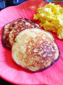 Paleo Pancake Recipe - Paleo Cupboard Ingredients: - 2 Tbsp. coconut oil