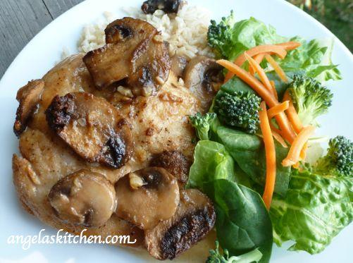 Gluten Free Dairy Free OAMC Chicken Marsala