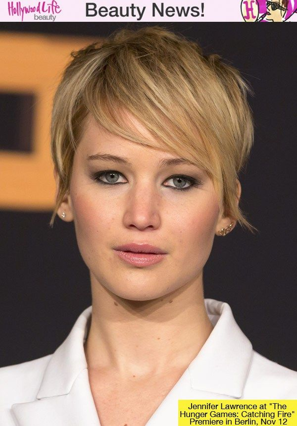 Jennifer Lawrence Short Hair