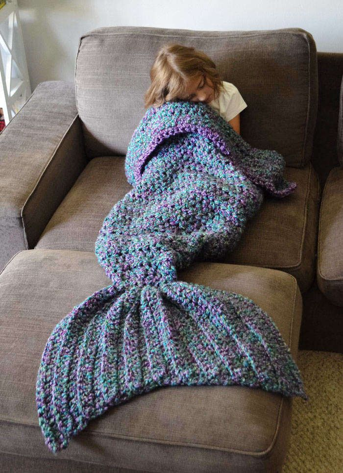 Just because it's cold out, doesn't mean you can't still do your mermaid thing. In fact,Melanie Campbellwould argue it's the best time for it.
