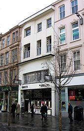The Willow Tearooms in Sauchiehall Street, Glasgow.