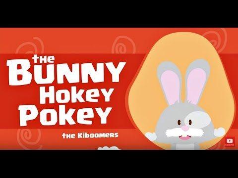 Bunny Hokey Song for Preschoolers | Hokey Pokey Dance for Kids | Easter Songs for Children - YouTube
