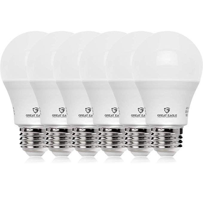 19 6 Pack Of Led Bulbs In 2020 Led Light Bulb Light Bulb Led Lights