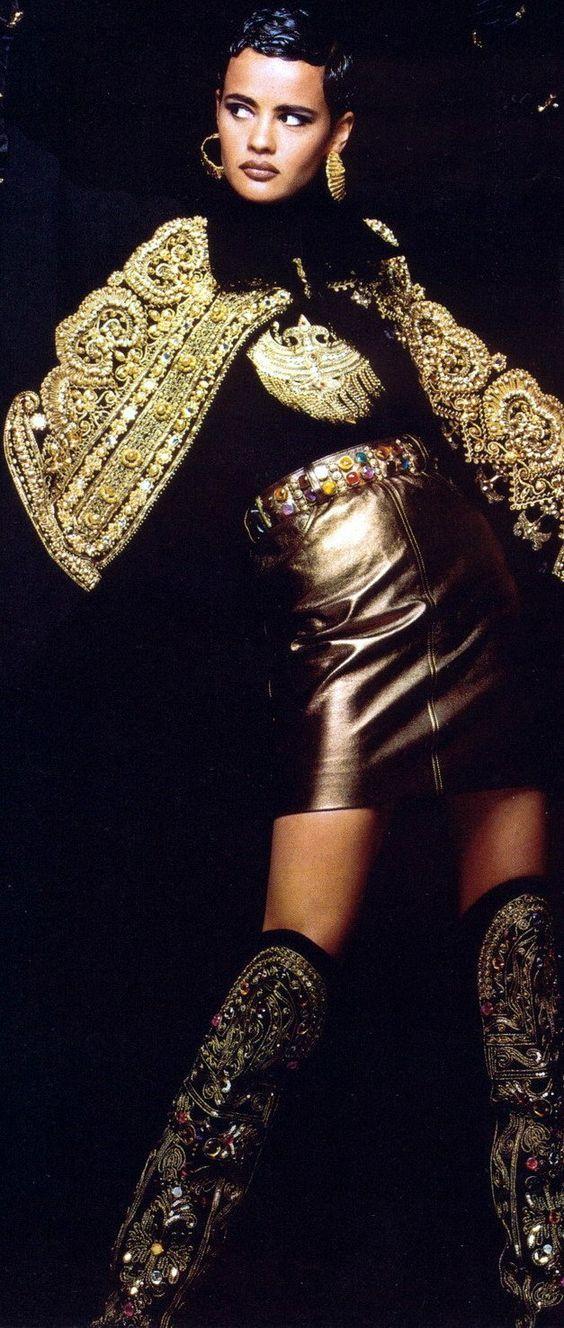 Christian Lacroix Vintage Fashion http://amzn.to/2ryQ3vl
