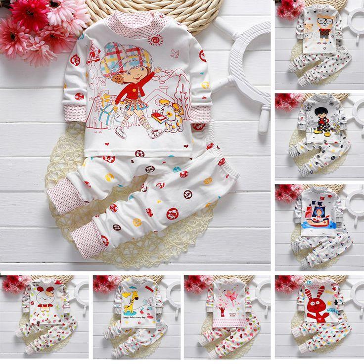 $5.60 (Buy here: https://alitems.com/g/1e8d114494ebda23ff8b16525dc3e8/?i=5&ulp=https%3A%2F%2Fwww.aliexpress.com%2Fitem%2FHot-sell-baby-boy-clothes-Baby-Kids-Pajamas-sets-Children-sleepwear-cotton-pyjamas-baby-girl-clothing%2F32723591909.html ) Hot sell baby boy clothes Baby Kids Pajamas sets Children sleepwear cotton pyjamas baby girl clothing sets baby boy Sets Pajamas for just $5.60