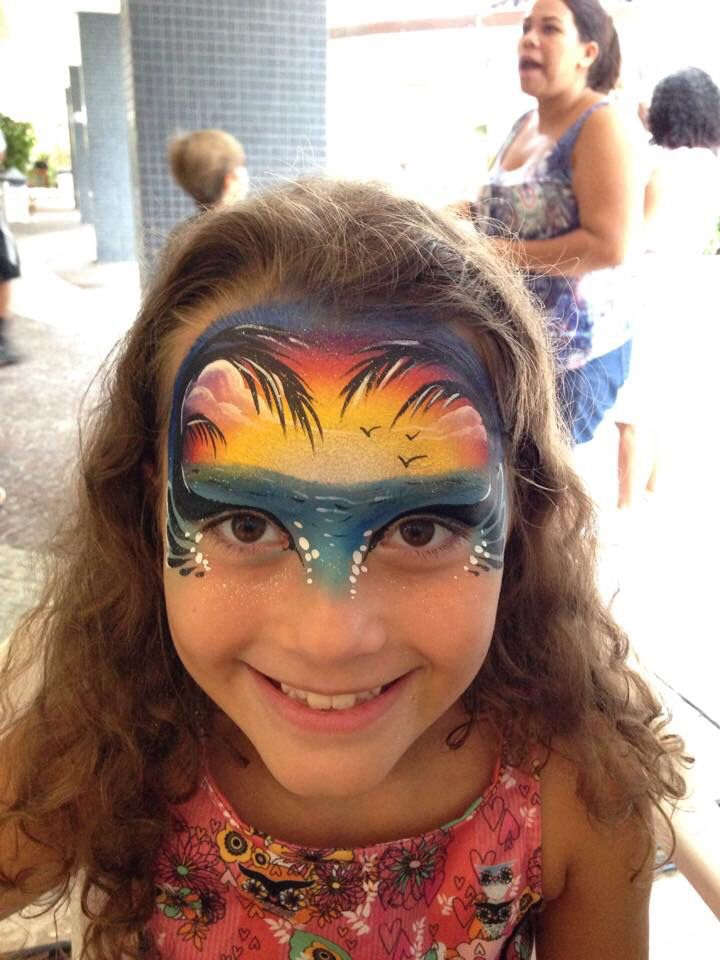 Henna By Leyla Shemesh: 1000+ Images About Face Paint- Tropical Ideas On Pinterest