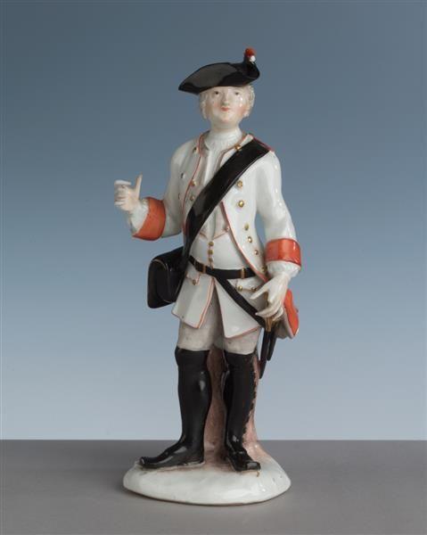 Musketier Kaendler, Johann Joachim (1706-1775)|Modelleur Meissen, vor 1745 Porzellansammlung