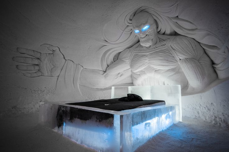 A Game Of Thrones' Ice Hotel Is Now Open In Finland - Genius Kitchen