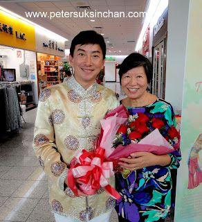 Artist Peter Suk Sin Chan  畫家 陳叔善: Thank for the beautiful flower - Peter Suk…
