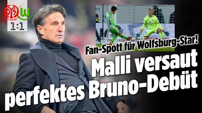 1. FSV Mainz 05 gegen VfL Wolfsburg - Bild.de