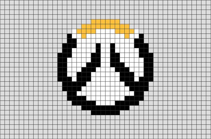 Overwatch Logo Pixel Art – BRIK