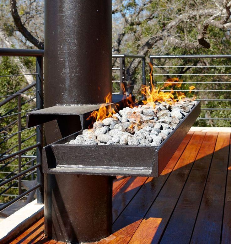 Steel Fire Pit Designs Fire Pits Pinterest Steel