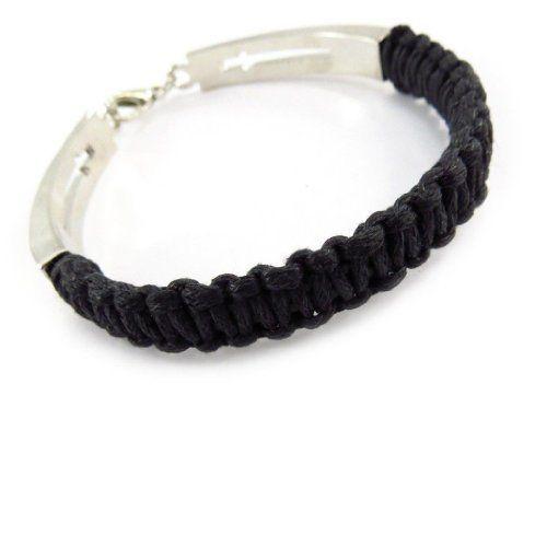 "Mixed bracelet ""Peaceful"" black. Les Tresors de Lily. $16.00"