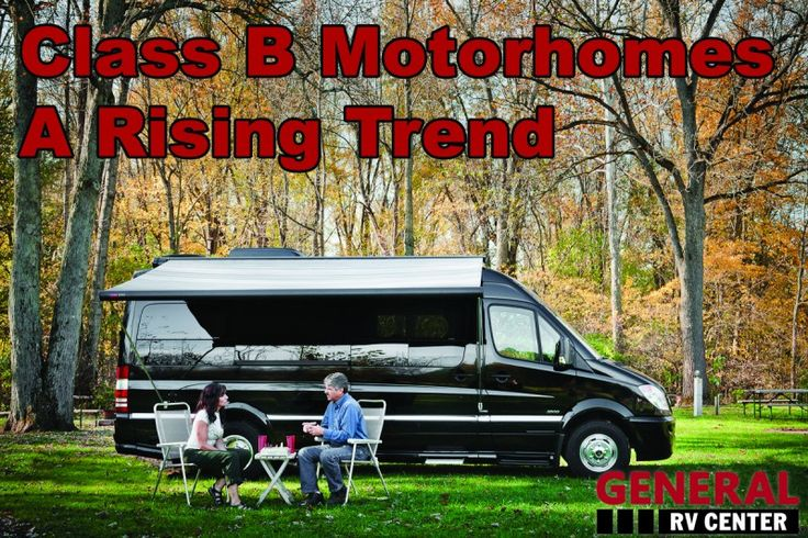 """Class B motorhomes otherwise referred to as a """"camper van"""" are the smallest of the three classes of motorhomes. Class B motorhomes are built using an automotive manufactured van chassis, are easier to drive/park and get significantly better gas mileage. #classbmotorhome #rvlife"""