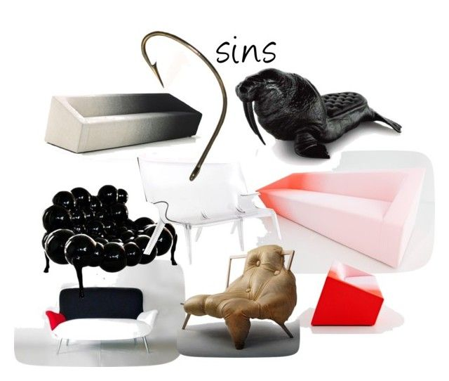 7 sins 2 by ritamikelsons-1 on Polyvore featuring interior, interiors, interior design, home, home decor, interior decorating and INC International Concepts