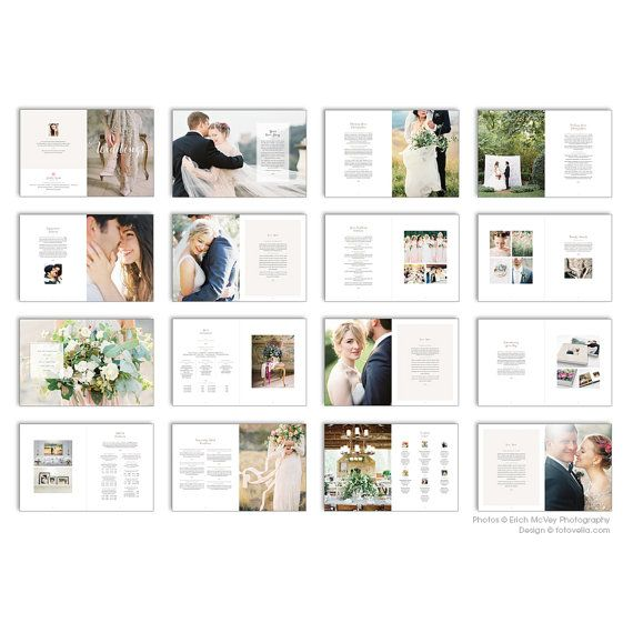 """Introducing """"Bliss"""", our gorgeous new wedding photographer marketing brochure / welcome guide with a decidedly high-end look, designed to attract your"""