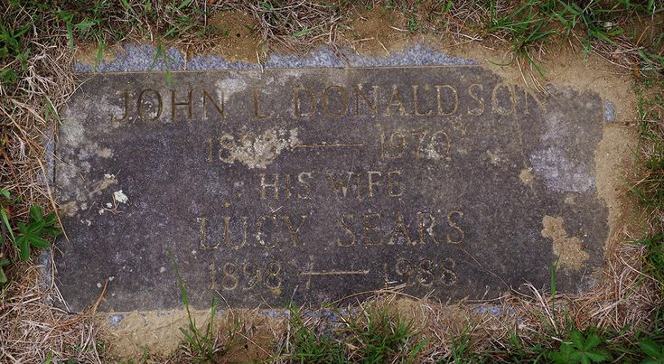 Lucy B Sears Donaldson (1898-1988) - Find A Grave Memorial