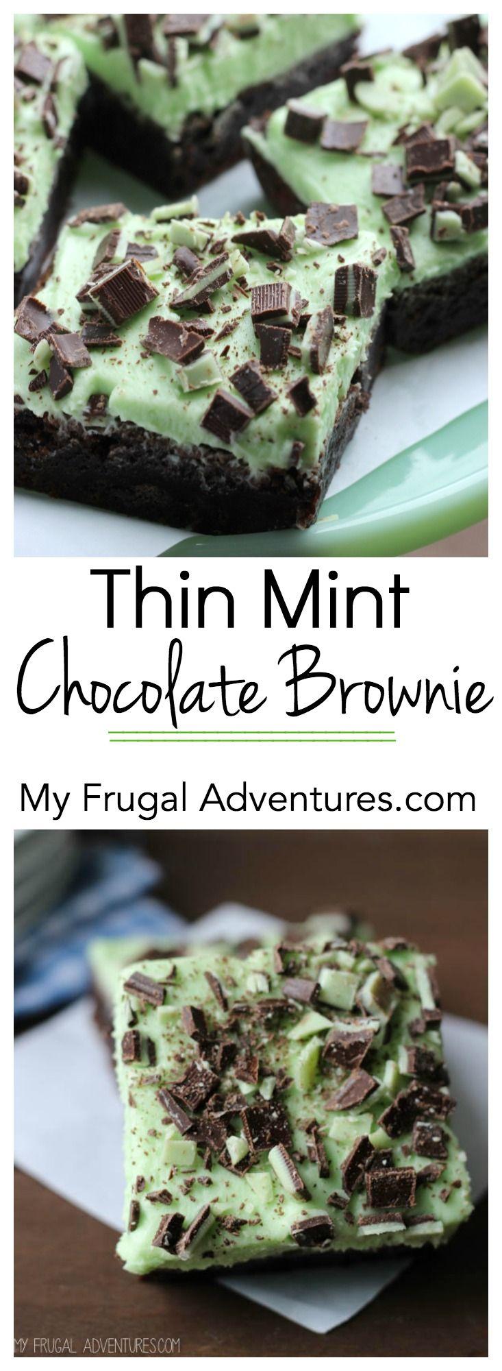 Thin Mint Chocolate Brownie Recipe