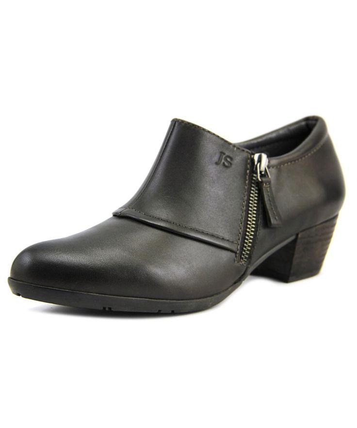 JOSEF SEIBEL | Josef Seibel Sue Women  Round Toe Leather Brown Bootie #Shoes #Boots & Booties #JOSEF SEIBEL