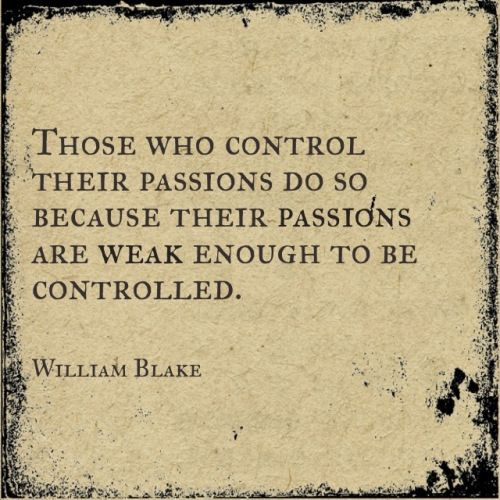Passion quote by William Blake