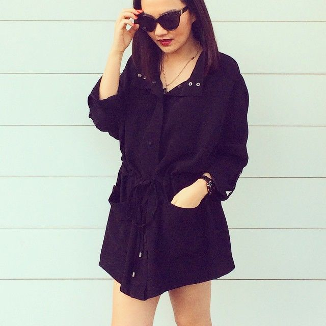 Saba parka and mink pink sunglasses