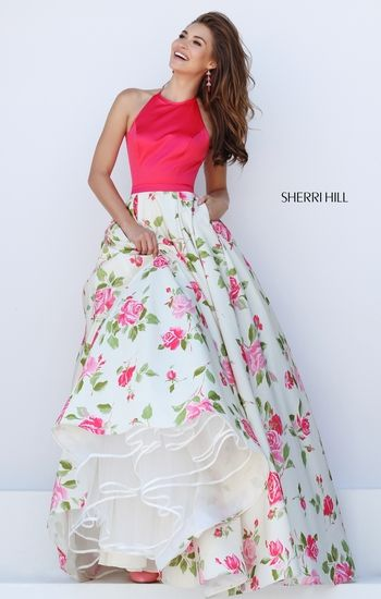 78  images about Floral Print Prom Dresses 2016 on Pinterest ...