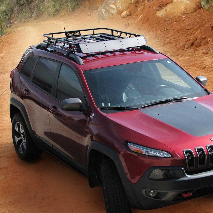 2014 Jeep Grand Cherokee Lift Kit >> Cherokee Rack, 2014-2016 Jeep Cherokee | Jeep Cherokee Trailhawk | Pinterest | Cherokee, Jeeps ...