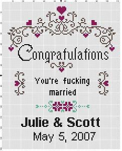 Stunning Wedding Cross Stitch Patterns Free To Print Photos ...