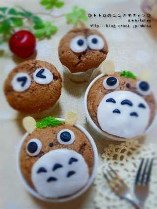 CROOZblog | Cocoa muffin by maman .. My Neighbor Totoro | Character rice every day