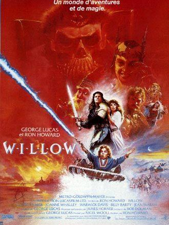 Titre original : Willow  Date de sortie Française : 02 Novembre 1988  Réalisé par Ron Howard  Avec Val Kilmer, Warwick Davis, Joanne Whalley...  Film Américain  Durée : 2h06min  Budget : 35 millions de dollars