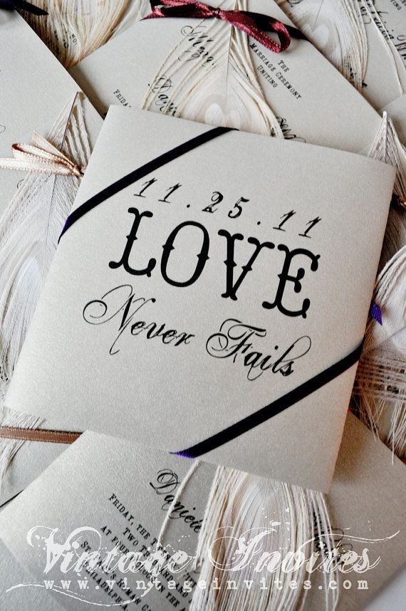 wedding programs... Love never fails <3: Vintage Travel Wedding, Wedding Programs, Vintage Weddings, Wedding Ideas, Love Never Fails, Love Ideas, Vintage Wedding Invitations, Wedding Quotes, Wedding Gifts