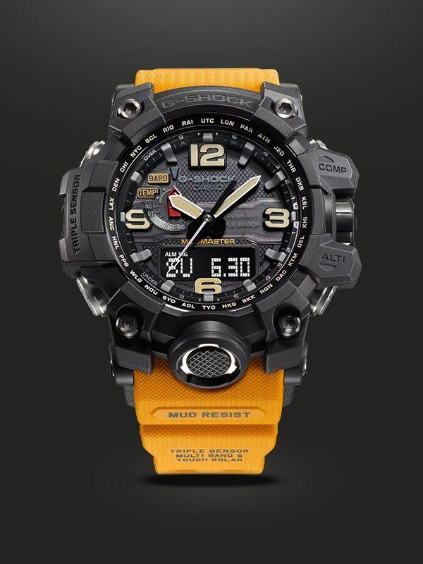 add1cfd82a7d MUDMASTER - G-SHOCK - CASIO Reloj de caballero Relojes deportivos   SportWatches  Trindu